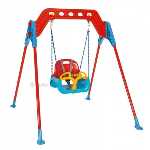 Altalena Per Bambini Altalena 1 posto Sedile 3 in 1 compreso sicura e omologata