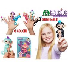 Fingerlings Scimmiette Bebè Scimmia Interattiva dito con 40 suoni Giochi preziosi ORIGINALE